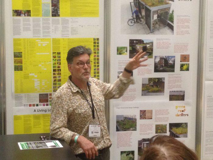 John Little at Ecobuild