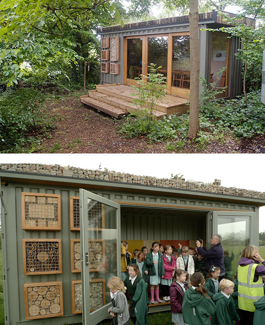 Green Roofed Outdoor Classroom