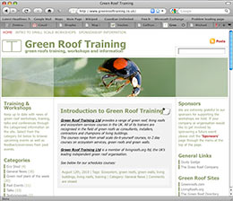 grass roof training website